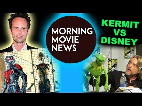 Walton Goggins cast in AntMan & The Wasp, Disney fired Steve Whitmire as Kermit