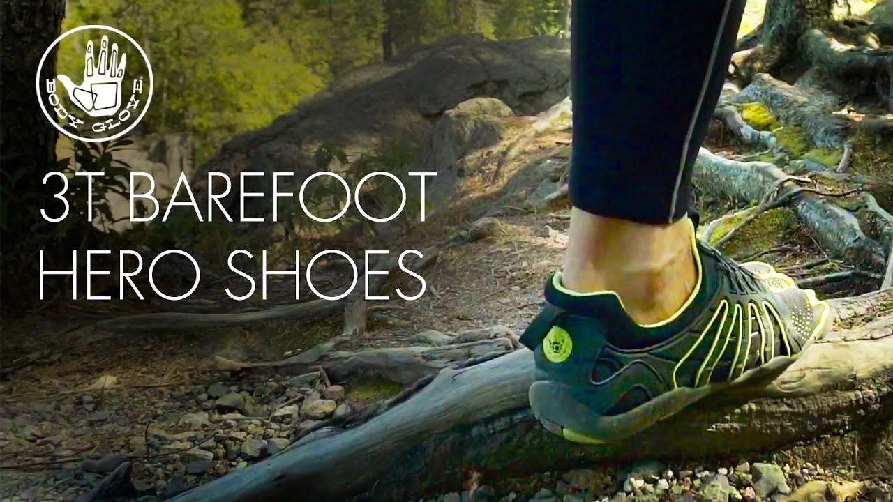 3T Barefoot Warrior // Black + Charcoal (US: 10) video thumbnail