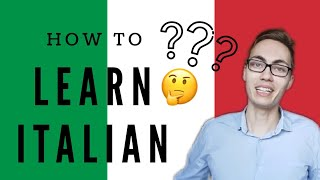How to learn Italian effectively (and, frankly, any language) - ENG