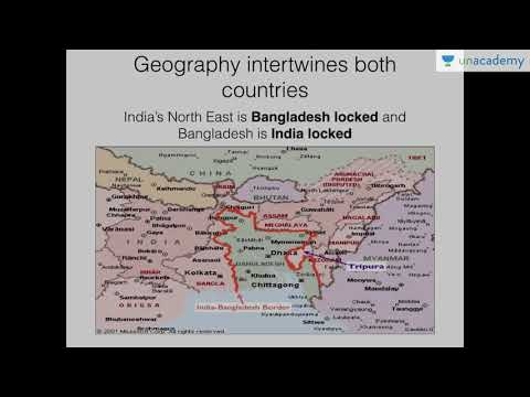International Relations Lecture fo IAS: India Bangladesh Relations - Current State of Relations