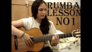 Rumba technique lesson No 1
