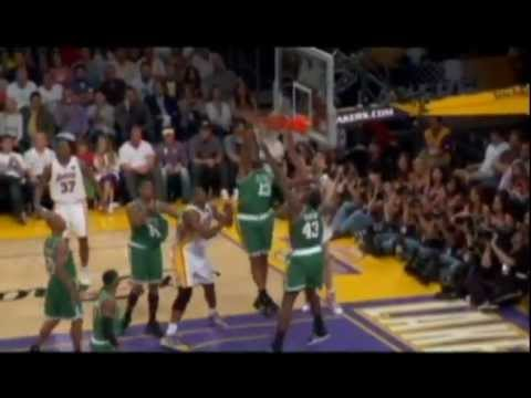 History of the Lakers-Celtics rivalry 1959-today (highlight mix/mini movie)
