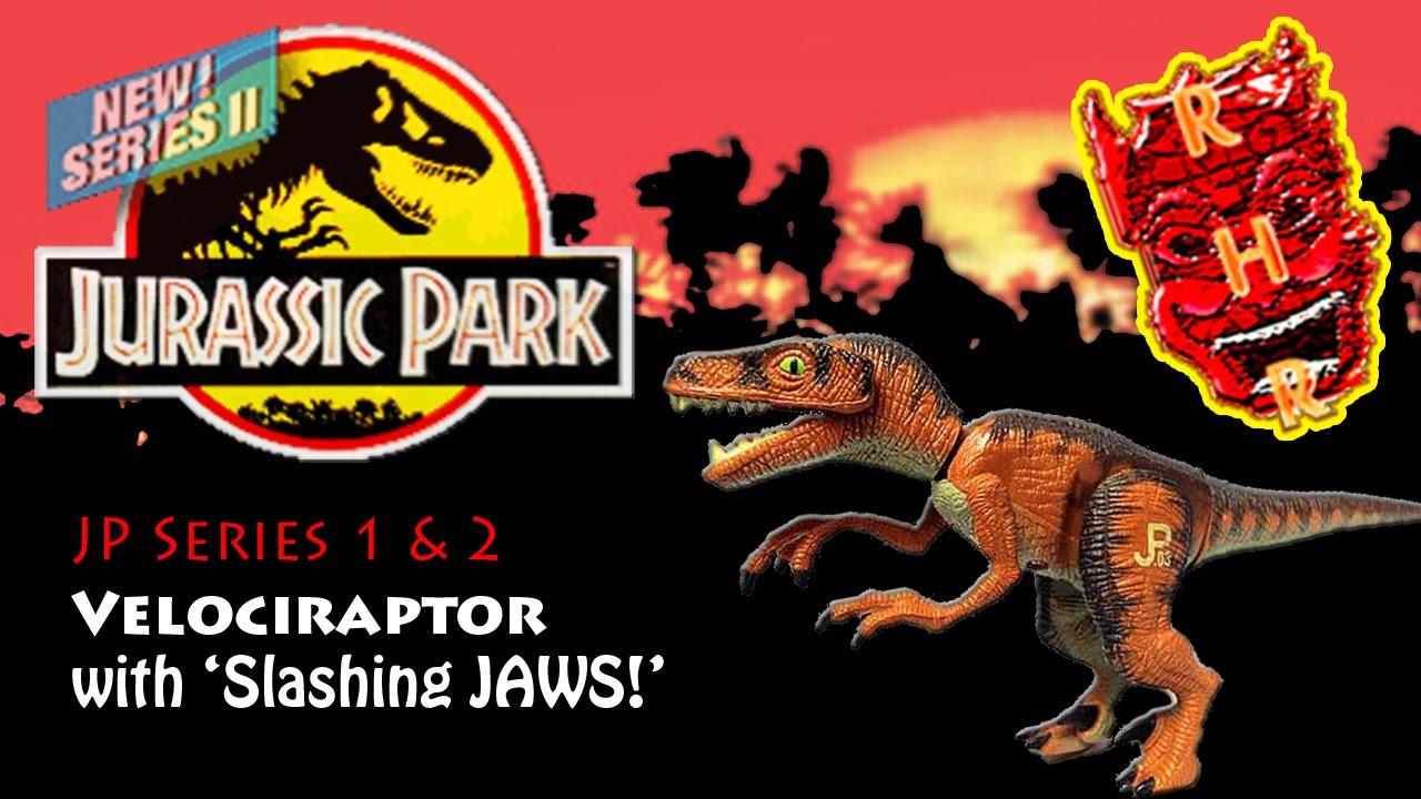 Jurassic Park 3 Velociraptor Toy Jurassic Park T...