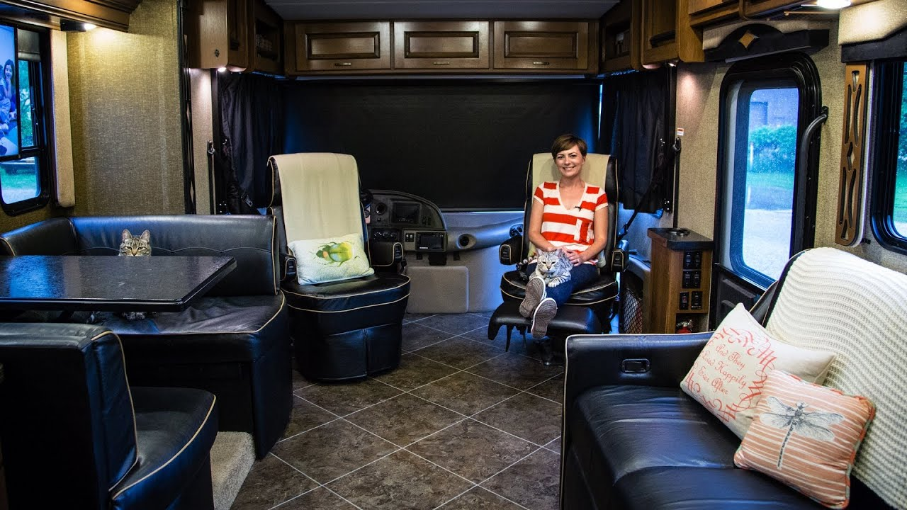 RV Quick Tip  How to Swivel RV Captains Chairs  YouTube