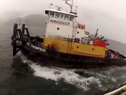 Dutch Harbor/ Captains Bay Barge flop and make up