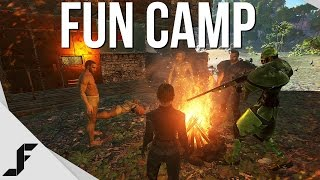 WELCOME TO FUN CAMP - Ark Survival Evolved Episode 8