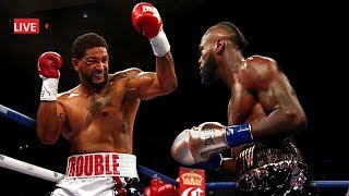 Deontay Wilder vs Dominic Breazeale Full Fight Commentary: No Fight Footage