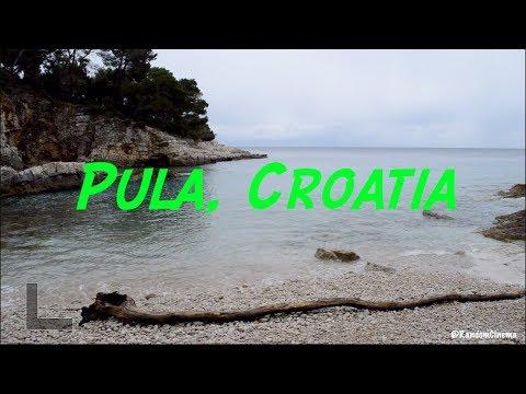 Travel Vlog: Exploring Pula, Croatia! Beautiful Beach, Abandoned Fortress & Temple Day 5