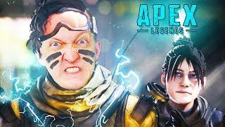 ЗАЛЕТЕЛ В ТОП-1 ИЗ ПЕРВОЙ ЖЕ КАТКИ В APEX Legends - это смесь Fortnite и Overwatch (голодные игры)
