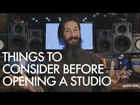 Things To Consider Before Opening a Studio