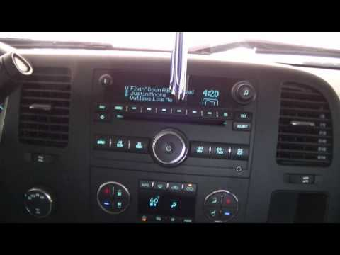 2012 Silverado 1500 Stock Stereo System
