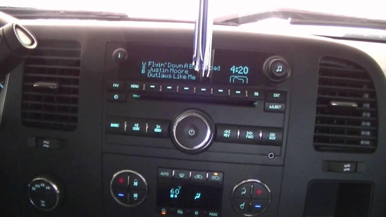 2012 Silverado 1500 Stock Stereo System Youtube