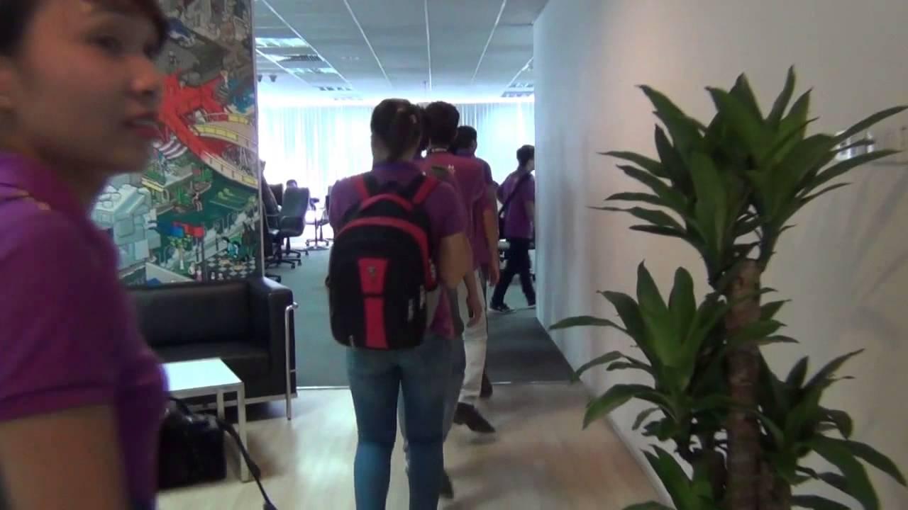 Sinh viên Bachkhoa-Aptech trải nghiệm tại Gameloft