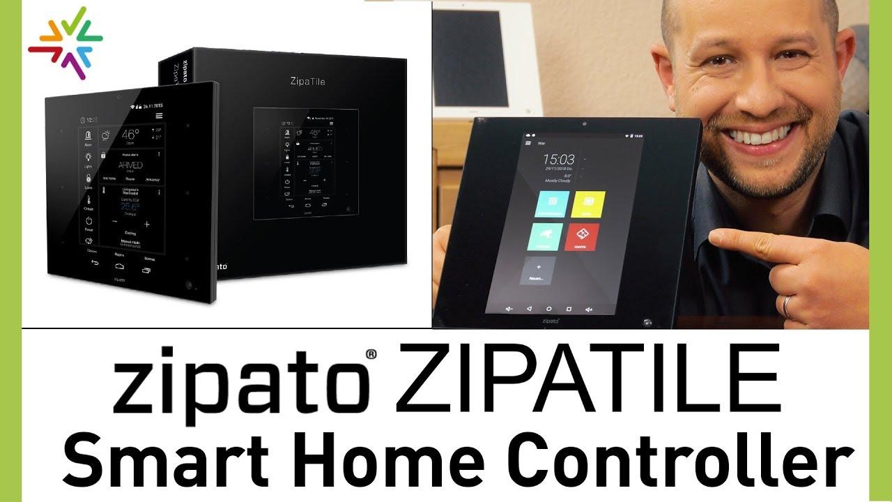 Smart Home mit Zipato: der ZipaTile Controller