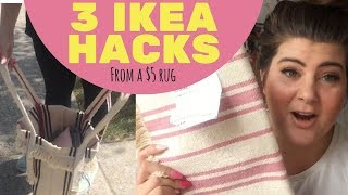 3 Quick & Easy Ikea Signe Rug Hack - by Emma May DIY