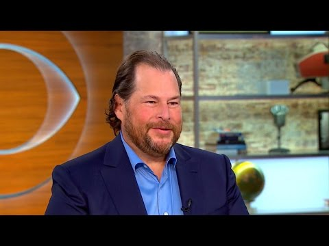 Salesforce CEO on using business for social activism