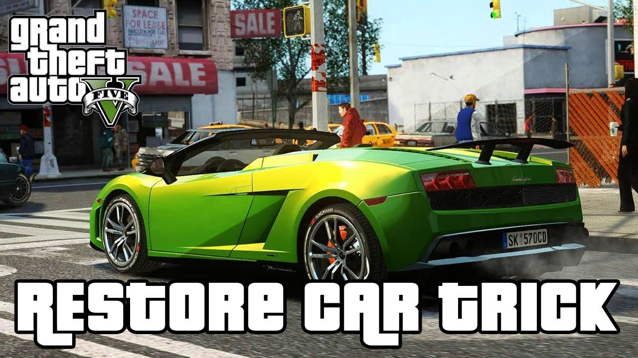 GTA 5 - Fix Car Instantly & Free at Anytime TRICK! - Grand Theft Auto 5  Secrets