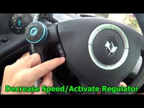 Renault Megane 2 tempomat használata
