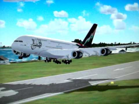 A-380 Landing At KJFK