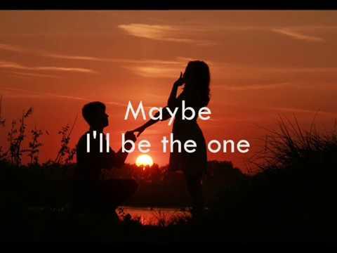 I'll Be The One with lyrics - Trademark