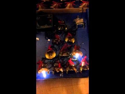 Mr christmas 10 lighted musical brass bells
