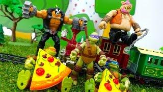 Черепашки Ниндзя и помощники Шредера! Видео игры онлайн для мальчиков