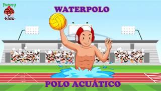 Deportes en inglés y español para niños - Funny Kids