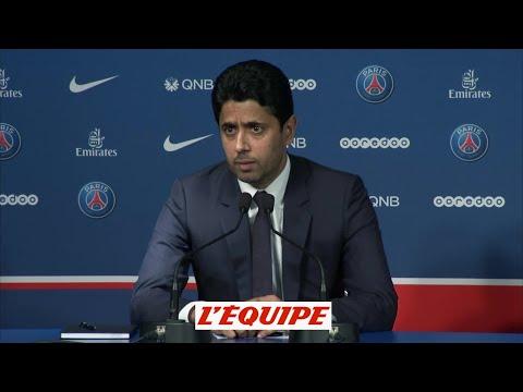 Al Khelaïfi «Le nouveau coach est là pour faire progresser le club» - Foot - L1 - PSG