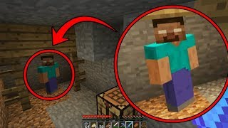 Herobrine is trying to contact me on this Minecraft Seed... (Finding Herobrine in Minecraft)