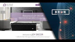 Brick House Solutions : Joy Decor Website