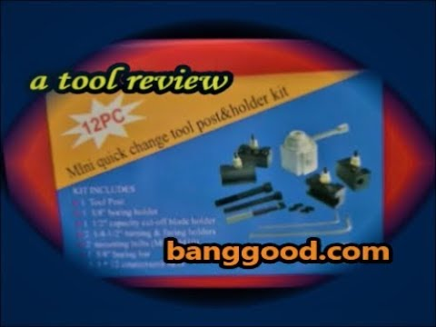Mini Quick Change Tool Post Kit from banggood.com