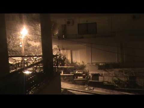 Ισχυρή χιονόπτωση στη Λαμία
