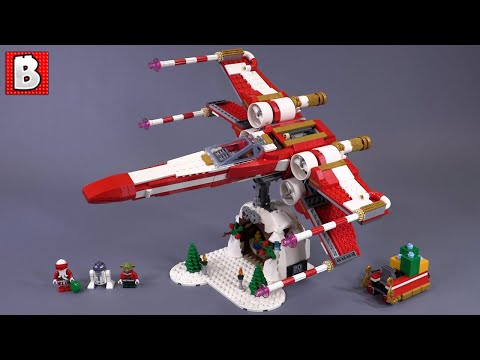 LEGO Christmas X-wing (Xmas-wing) | Unbox & Review