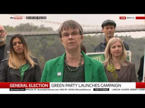 Molly Scott Cato launches Green Party election campaign