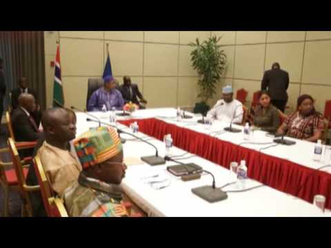 The united nations' under-secretary general Jeffrey Feltman arrived in the gambia
