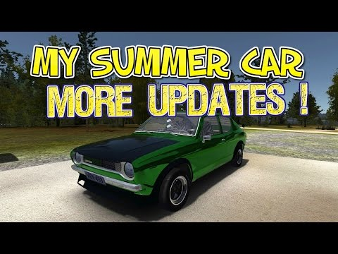 MY SUMMER CAR (NEW UPDATE 24.11.16) TWO NEW JOBS ?