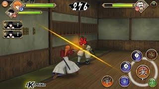 Rurouni Kenshin (Android) Gameplay