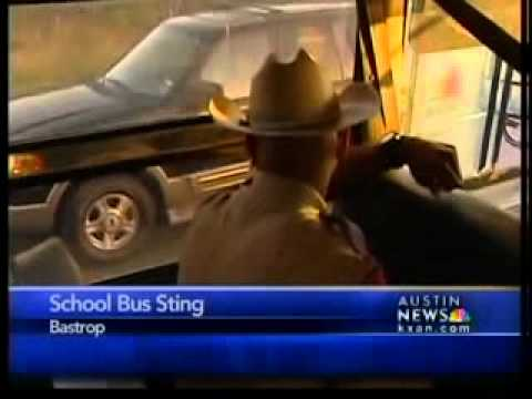Drivers caught in school bus sting