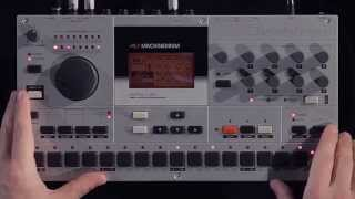 Workflow: Machinedrum UW