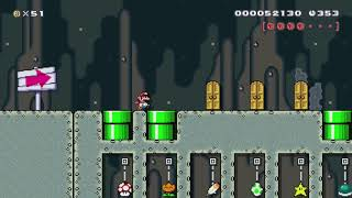 SMW Power-Up Trials 2 by NinLL72 - Super Mario Maker - No Commentary