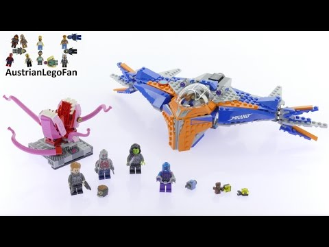 Lego Super Heroes 76081 The Milano vs. The Abilisk - Lego Speed Build Review