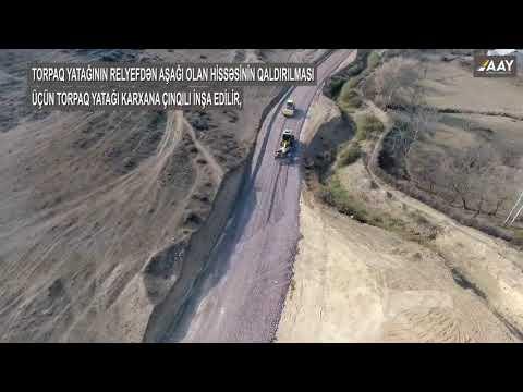 Şəmkir Rayonunun Zəyəm Cırdaxan–Tatarlı Avtomobil Yolu Yenidən Qurulur