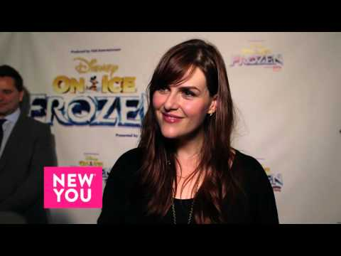 Actress Sara Rue talks to New You about Fozen on Ice, and Family Dating