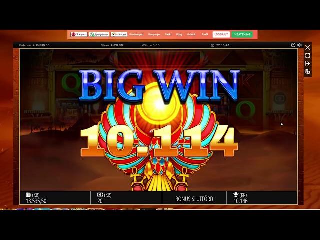 LEGACY OF RA MEGAWAYS - BIG WIN