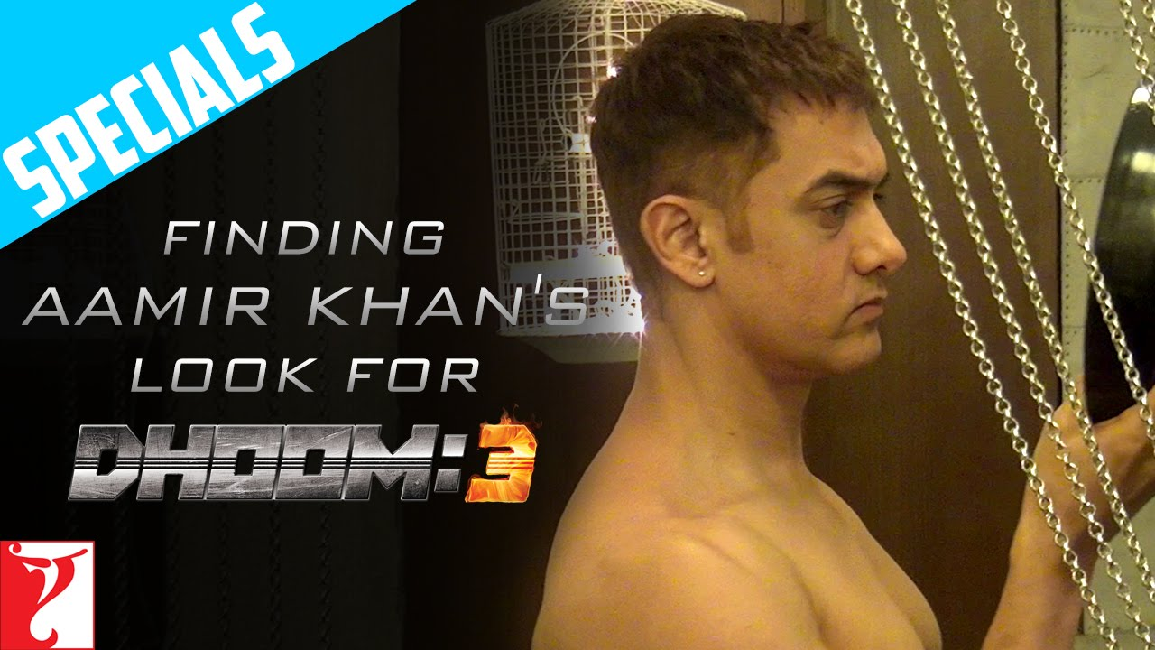 Specials Finding Aamir Khan S Look Dhoom 3 Youtube