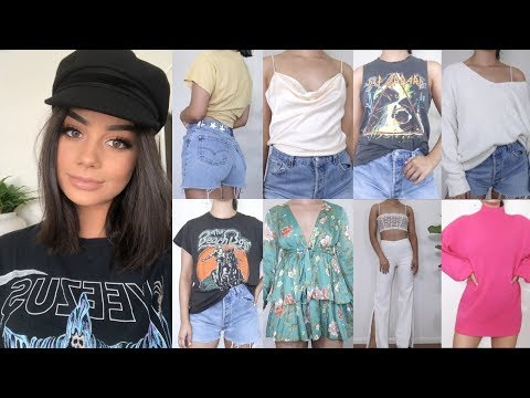 LITERALLY THE BIGGEST, MOST AMAZING TRY ON CLOTHING HAUL EVER