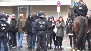 AfD-BPT 2017: Linke Gegendemos (JF-TV Direkt)