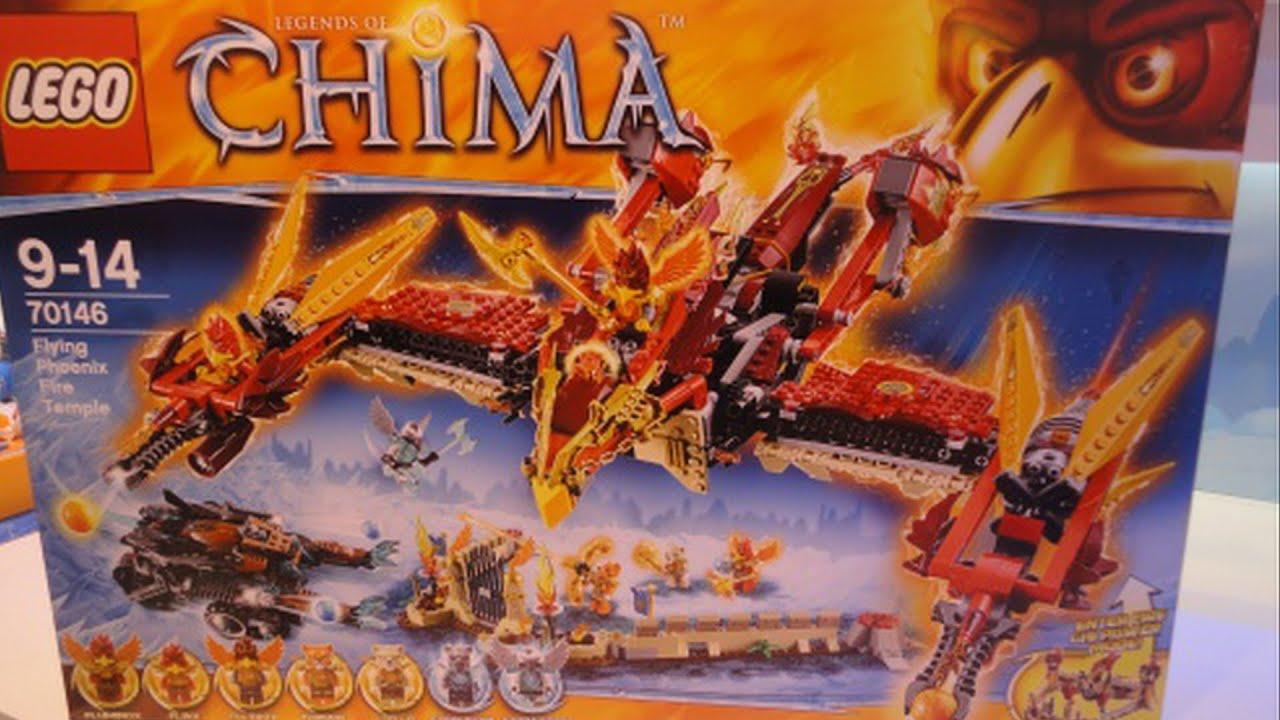 LEGO Legends Of Chima Summer 2014 Set Flying Phoenix Fire