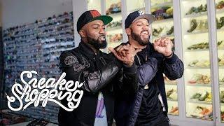 Comedians Desus and Mero go Sneaker Shopping with Complex's Joe La ...