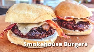 Smokhouse Burgers | Hickory Smoked Hamburgers on Big Green Egg